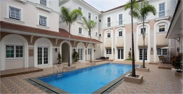 Kolam Renang Muse Alesha Pool Villa